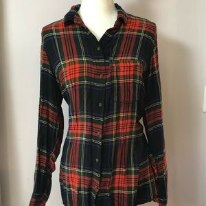 Old Navy | The Classic Shirt Long Sleeve Plaid